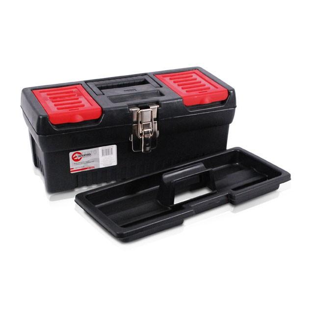 Ящик для инструментов с металлическими замками, 13 330x177x135 мм INTERTOOL BX-1013