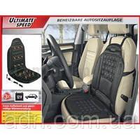 Накидка на автомобильное сиденье с подогревом Ultimate Speed 12v (Германия), фото 1