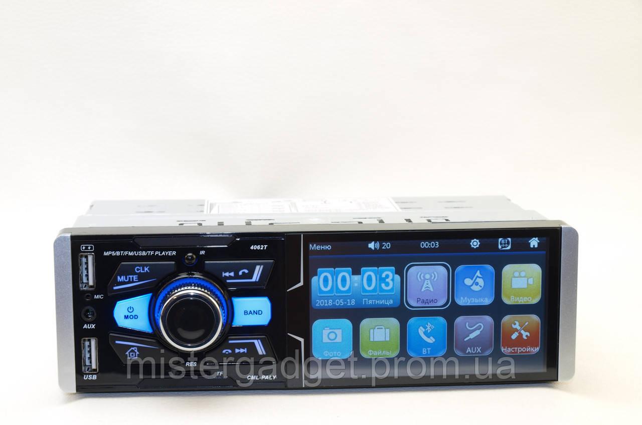 "Автомагнитола Pioneer 4062T ISO Сенсорный экран 4,1"""