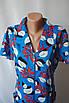 Жіночі літні халати з коміром на блискавці купити дешево, фото 2