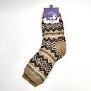 Мужские зимние шерстяные носки Термо на меху, фото 2