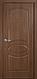 """Дверь межкомнатная глухая новый стиль Фортис """"Овал А """" 60-90 см ясень new, фото 2"""