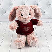 Мягкая игрушка Зайка, плюшевый заяц 20 см., фото 1