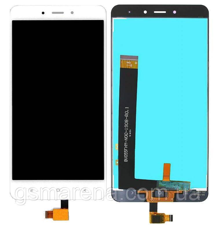 Дисплей (модуль) для Xiaomi Redmi Note 4 Белый