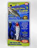 Приманка Воблер светящаяся Twitching Lure поппер для спиннинговой рыбалки - силиконовая приманка, фото 4