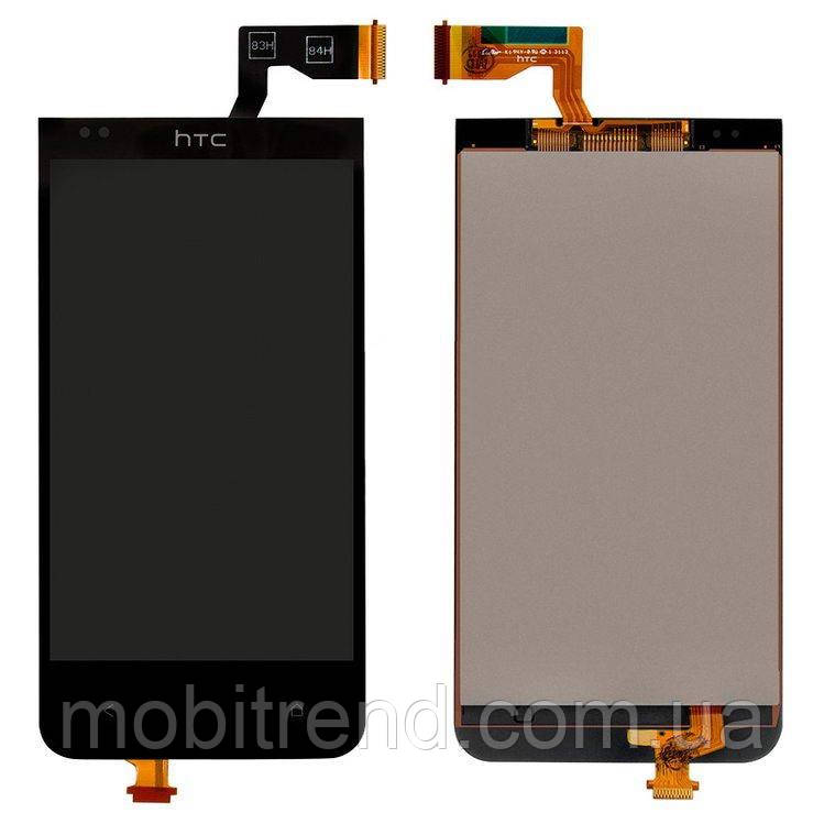 Дисплей (модуль) для HTC Desire 300, Desire 301e Черный