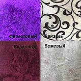Теплый махровый халат с цветочным принтом, фото 3