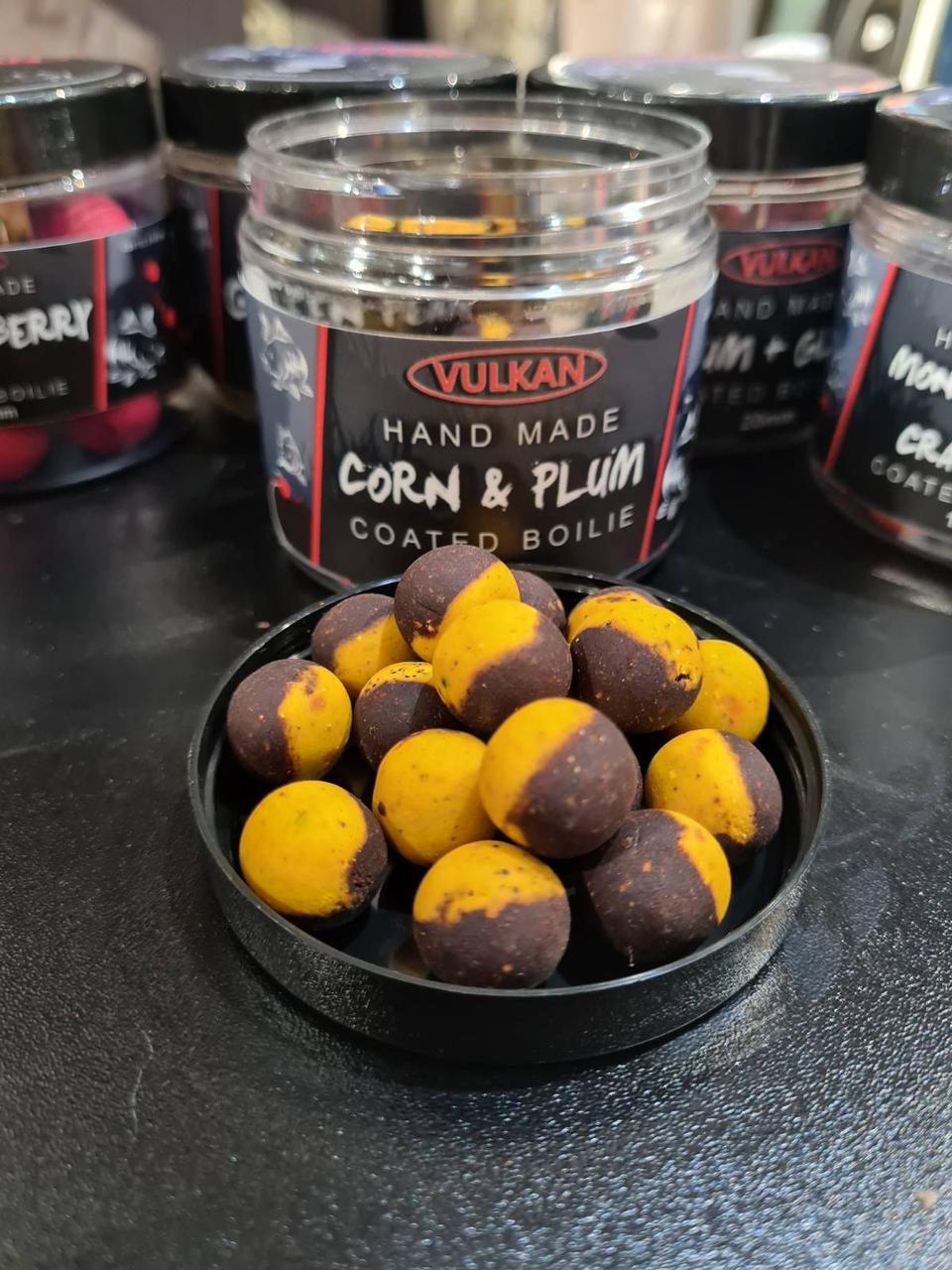 Тонущие бойлы Vulkan Corn & Plum (Кукуруза-Слива) 16mm