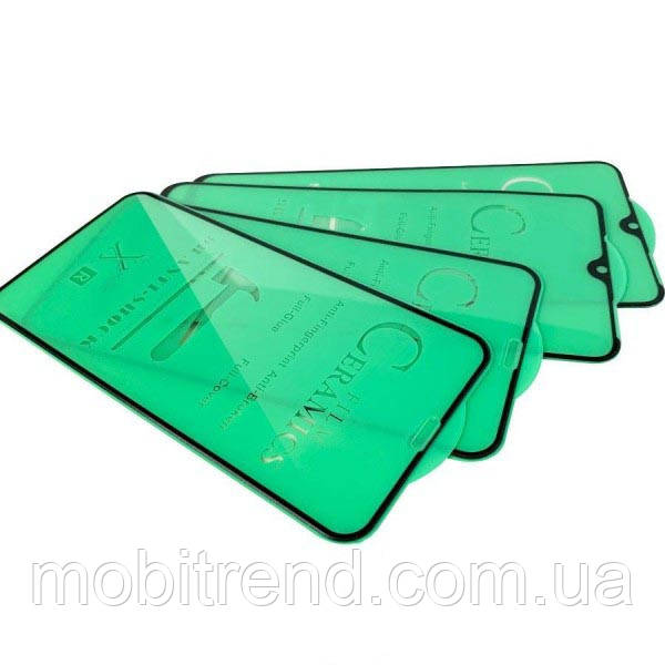 Защитное стекло 3D Ceramics для Samsung A01 2020 A015 Черный