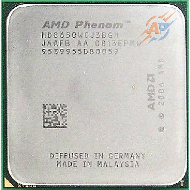 Процессор AMD Phenom X3 8650 2.3GHz 1800MHz (HD8650WCJ3BGHI) Socket AM2/AM2+ 95W