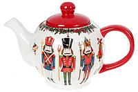 Чайник-заварник керамічний Лускунчик 1000 мл