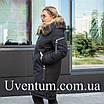Парку зимнюю женскую  больших размеров 50 черный, фото 3