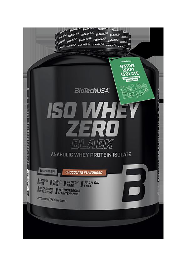 Протеин изолят Biotech Iso Whey Zero Black 2270 г