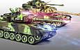Боевой танк Зеленый Хаки на радиоуправлении. Можно собрать танковый бой! 9993 М 5523, фото 2