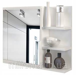 Шкаф с зеркалом для ванной LUMO PRAWE, фото 2