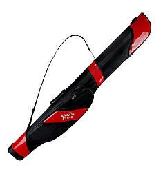 Чехол для спиннингов полужесткий Sams Fish SF24057-R 10-21 см 1.3 м Red