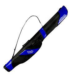 Чехол для спиннингов полужесткий Sams Fish SF24058-B 10-21 см 1.5 м Blue