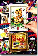 Картина за номерами олівцями Pensilby number Ведмедик, DankoToys (10), фото 1