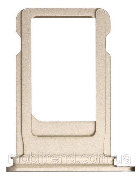 Сим держатель (SIM холдер) для iPhone 7 sim holder Золотой Оригинал