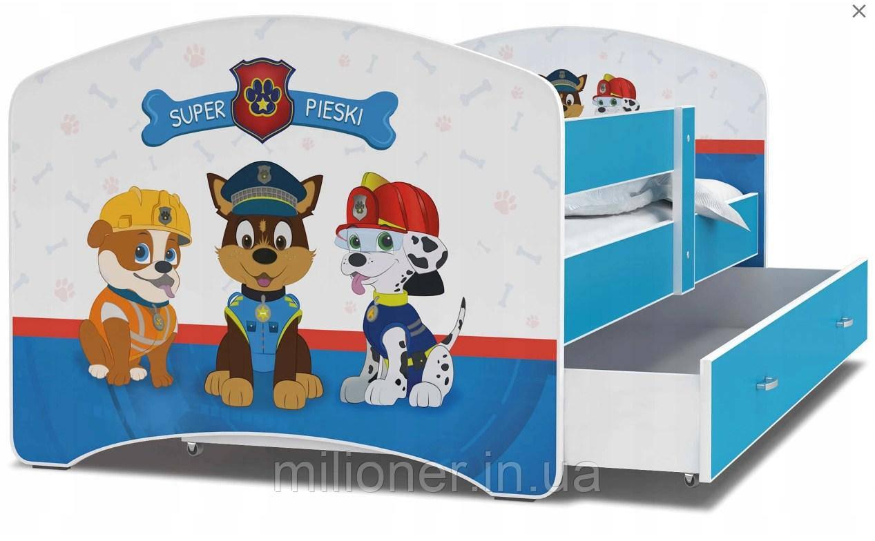 Детская кровать Luki 160х80 (47L)