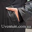 Куртка женская осень-весна больших размеров   50-60 розовый, фото 4