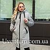 Куртка женская осень-весна больших размеров   50-60 розовый, фото 6