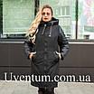 Куртка женская осень-весна больших размеров   50-60 розовый, фото 5