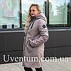 Куртка женская осень-весна больших размеров   50-60 розовый, фото 7
