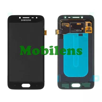 Samsung J250, J250F, Galaxy J2 (2018) Дисплей+тачскрин(модуль) черный High Copy (OLED), фото 2