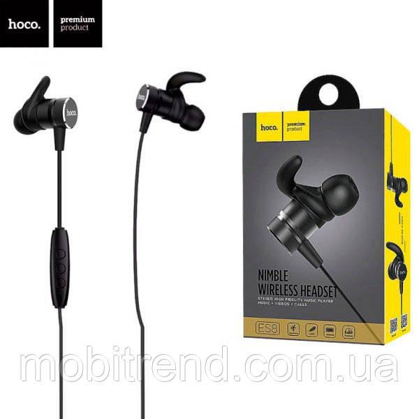 Bluetooth наушники с микрофоном Hoco ES8 Черный