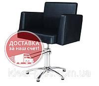 Кресло парикмахера для клиента на гидравлике Jordan (Гидравлика пр-ва Польша)