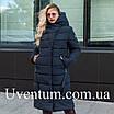 Женские куртки зима  больших размеров  56 черный, фото 4