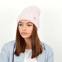 Шапка ангоровая Саванна Розовый/розовый, фото 1