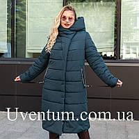 Женские зимние куртки больших размеров 50-58 волна