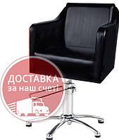 Парикмахерское кресло удобное для клиентов салона красоты (гидравлика-Польша) VM832