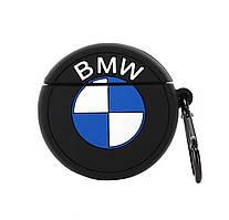 Чехол Logo series (+ карабин) к наушникам Apple AirPods (BMW)