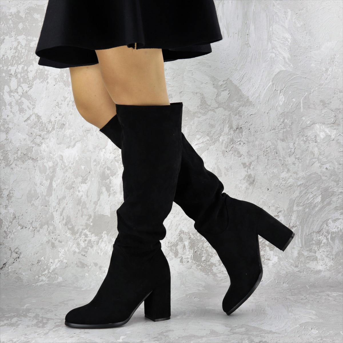 Женские сапоги на каблуке Gizmo 1426 (37 размер)