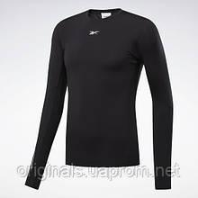 Компрессионная футболка черная Reebok United by Fitness FK0454 2020/2 мужская
