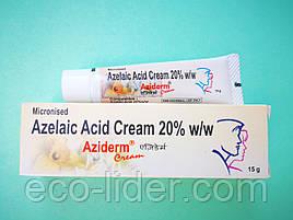 Aziderm cream (Азидерм крем) с 20% азелаиновой кислотой, мощный эффект, 15г