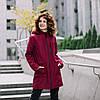 """""""Бордо"""" Демисезонная слингокуртка 4 в 1 Love & Carry 2020 Пальто для беременных Парка"""