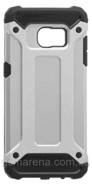 Чехол накладка Motomo X5 Samsung S7 Edge G935 Серый
