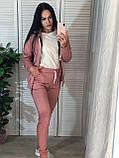 Женский спортивный костюм с капюшоном на флисе, фото 7