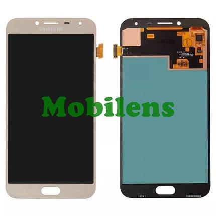 Samsung J400, J400F, Galaxy J4 (2018) Дисплей+тачскрин(модуль) золотистый High Copy (OLED), фото 2