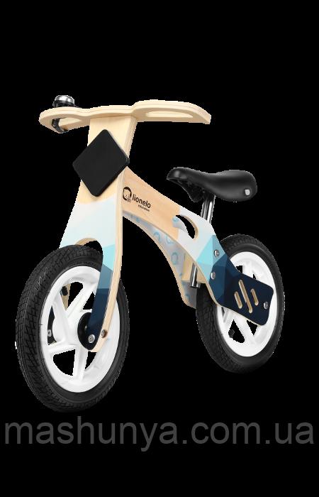 Беговел - велобег Lionelo Willy Air 12 дюймов колеса