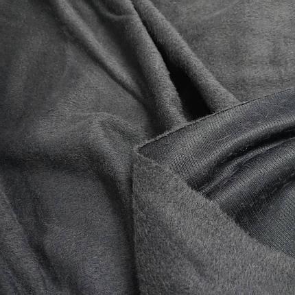 Пальтовая ткань ворсовая серая РАСПРОДАЖА, фото 2