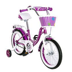 """Велосипед двоколісний 16"""" SW-17017-16 фіолетовий"""