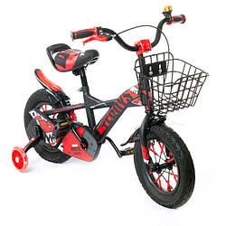 Дитячий велосипед TZ-007 12 дюймів червоний