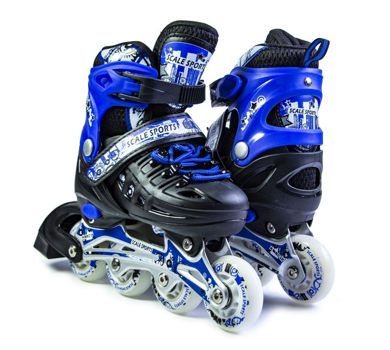 Ролики Scale Sports Blue LF 905, размер 34-37