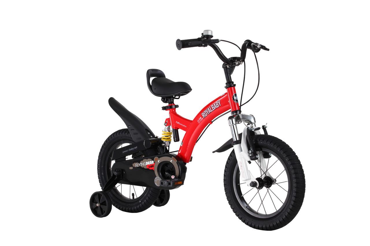 Велосипед 2-х колесный детский Flying bear RB18B-9 Красный