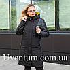 Удлиненная куртка женская демисезонная большого размера    50-62 пудра, фото 3